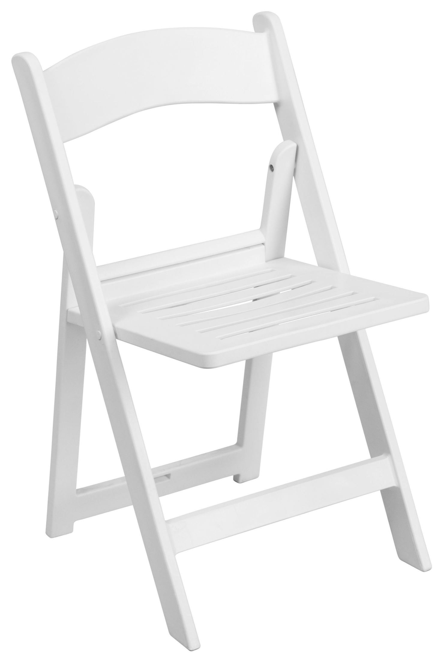 hercules folding chair round wicker chairs series white resin slatted from