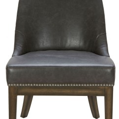 Gray Leather Dining Chairs Shabby Chic Slipcovers For Wingback Liana Grey And Silver Linen Fabric Chair
