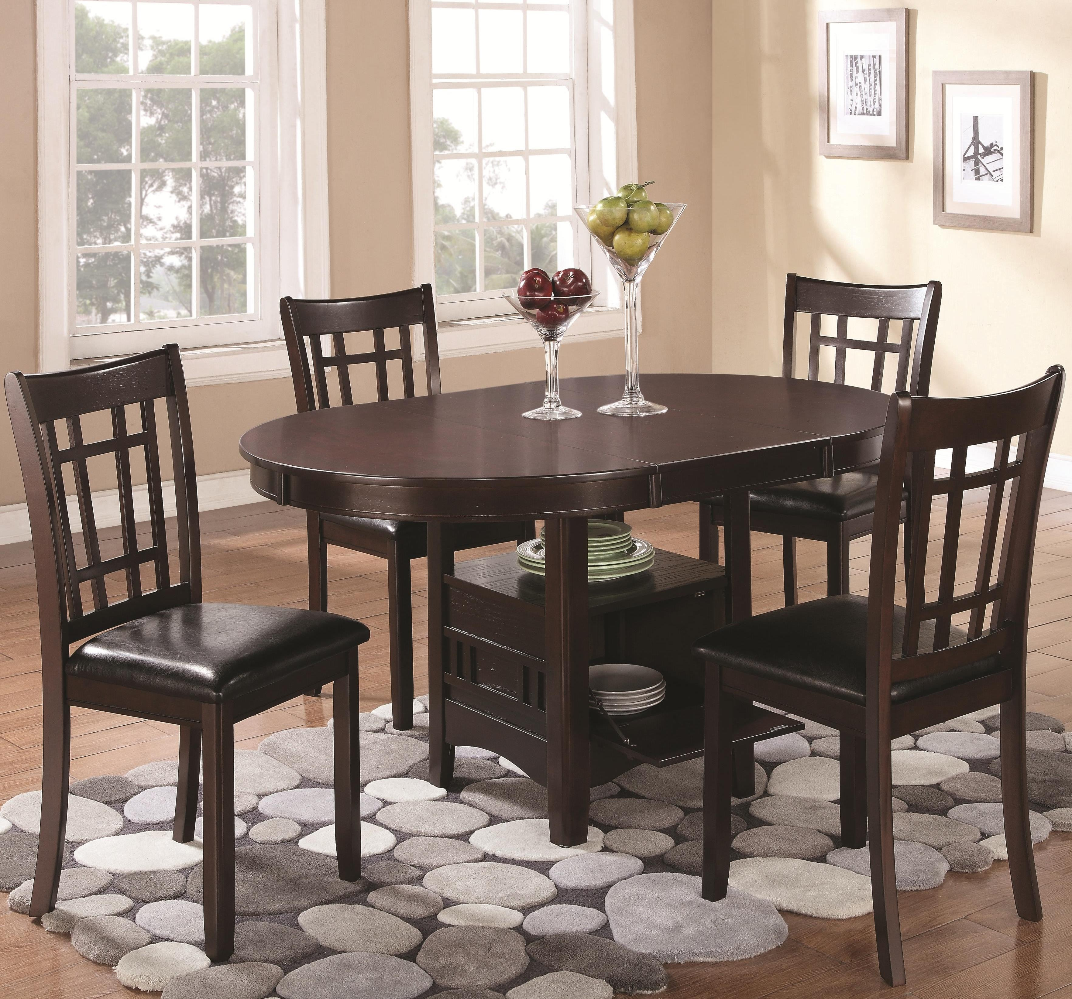 Linwood Extendable Dining Room Set From Coaster (102671