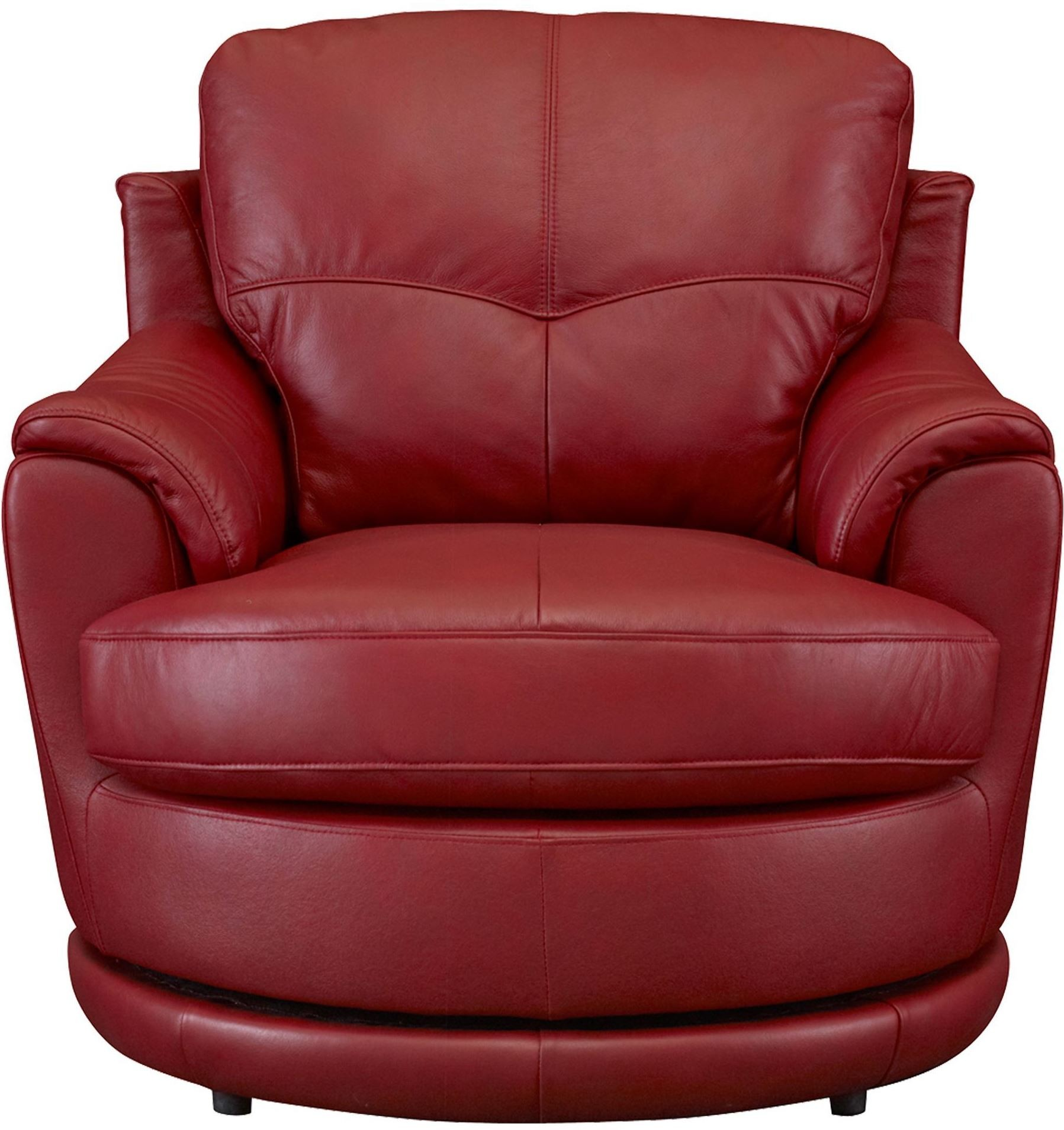 Red Swivel Chair Globe Red Swivel Chair From Leather Italia 1444 M1073