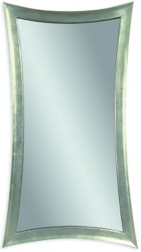 Hour Silver Leaf Glass Wall Mirror, M1762EC, Bassett Mirror