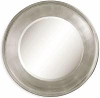 Ursula Silver Leaf Wall Mirror, M2756BEC, Bassett Mirror