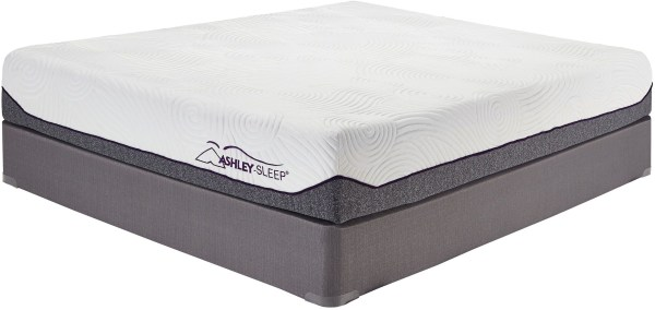 Memory Foam White Twin Mattress M94511 Ashley