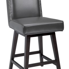 Swivel Bar Chairs Wedding Chair Covers For Sale Cape Town Maison Grey Counter Stool From Sunpan 73018