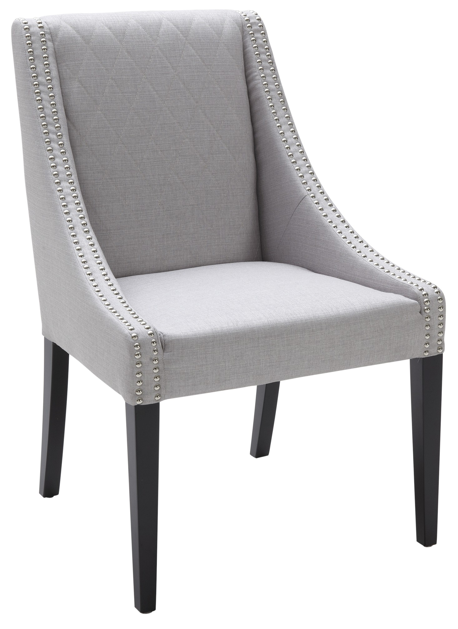 Silver Dining Chairs Malabar Dining Chair Fabric In Silver Linen From Sunpan