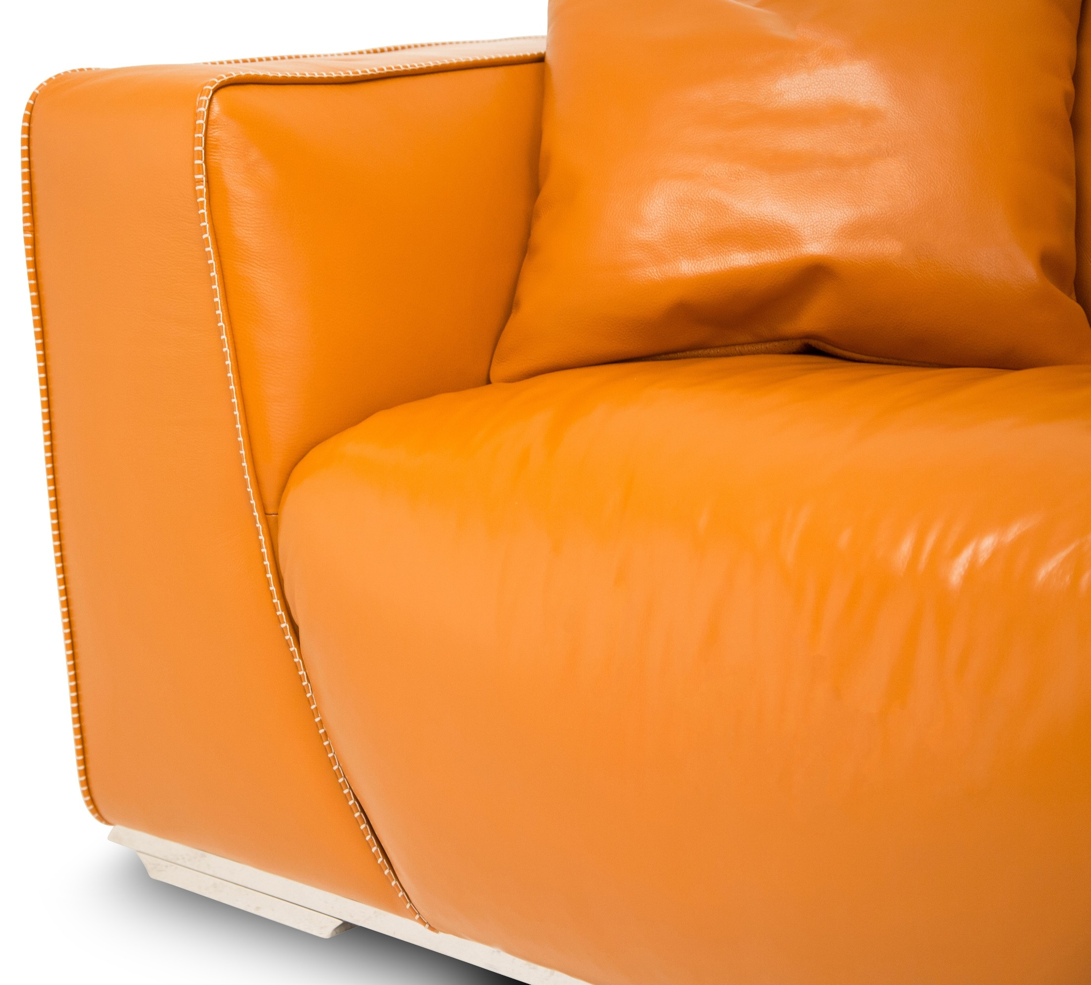 tangerine sofa murphy bed with mia bella leather mansion mb sophi16 tgr