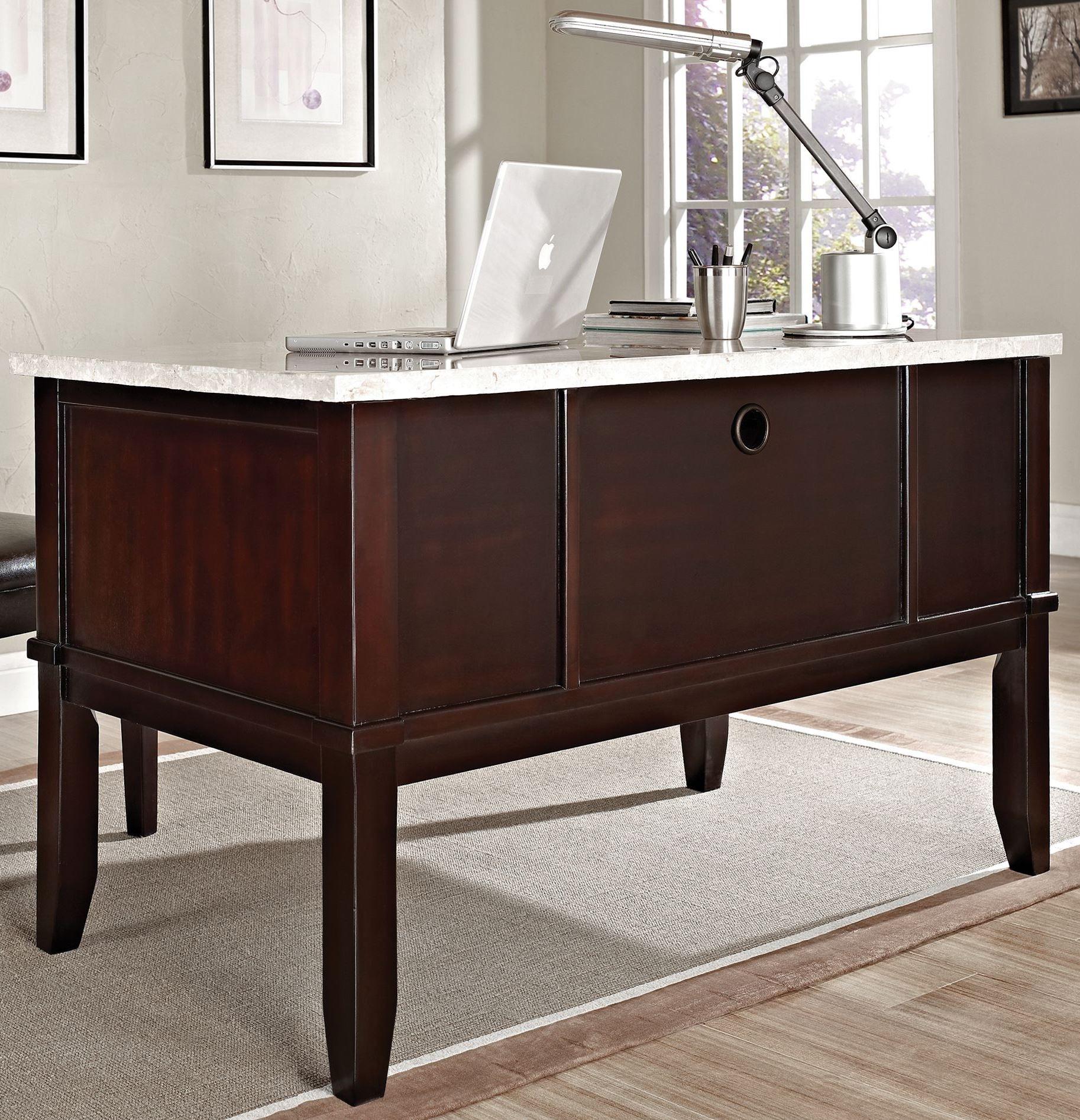 Monarch Dark Cherry Desk from Steve Silver MC150D