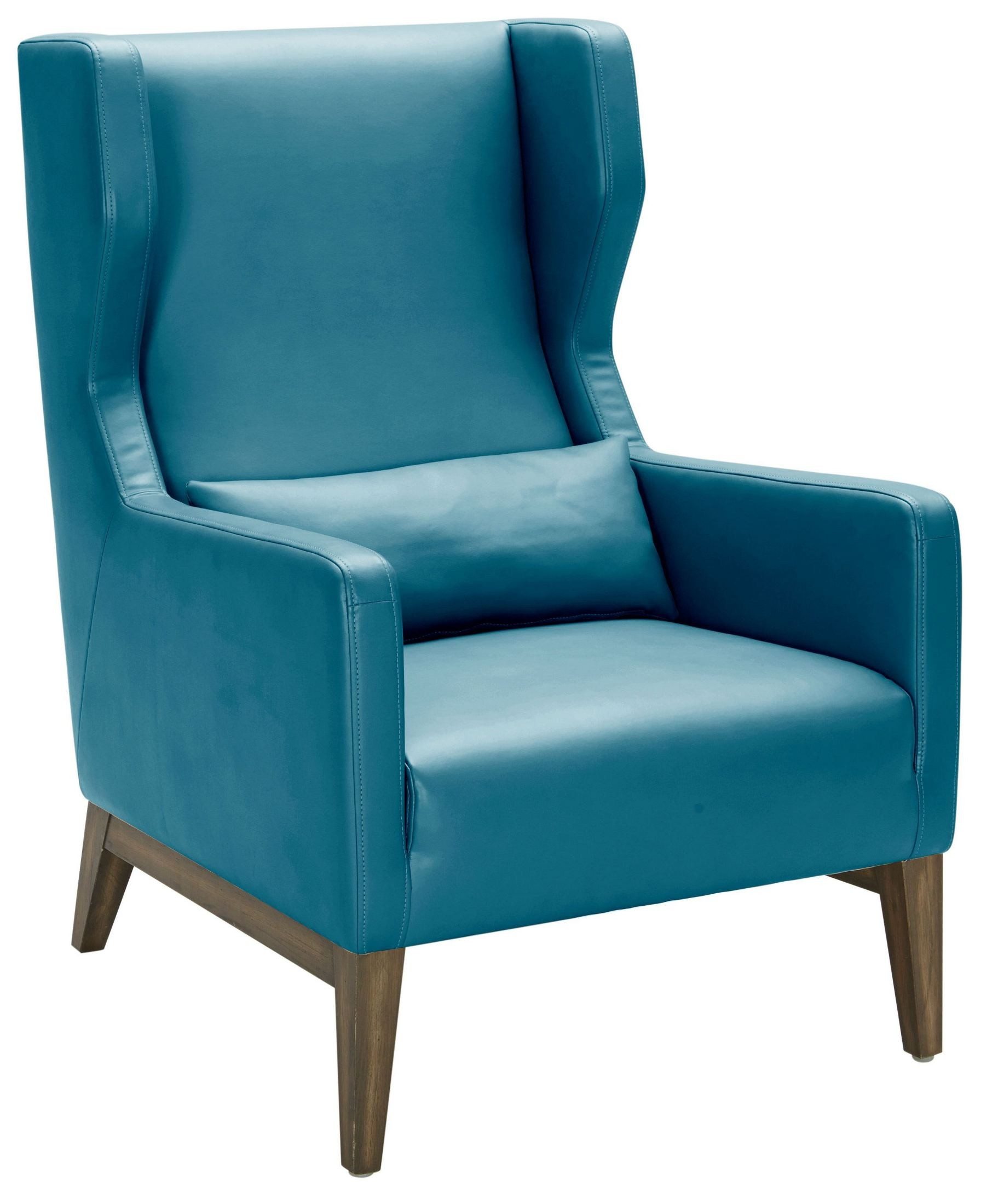 Turquoise Leather Chair Messina Turquoise Leather Armchair From Sunpan Coleman