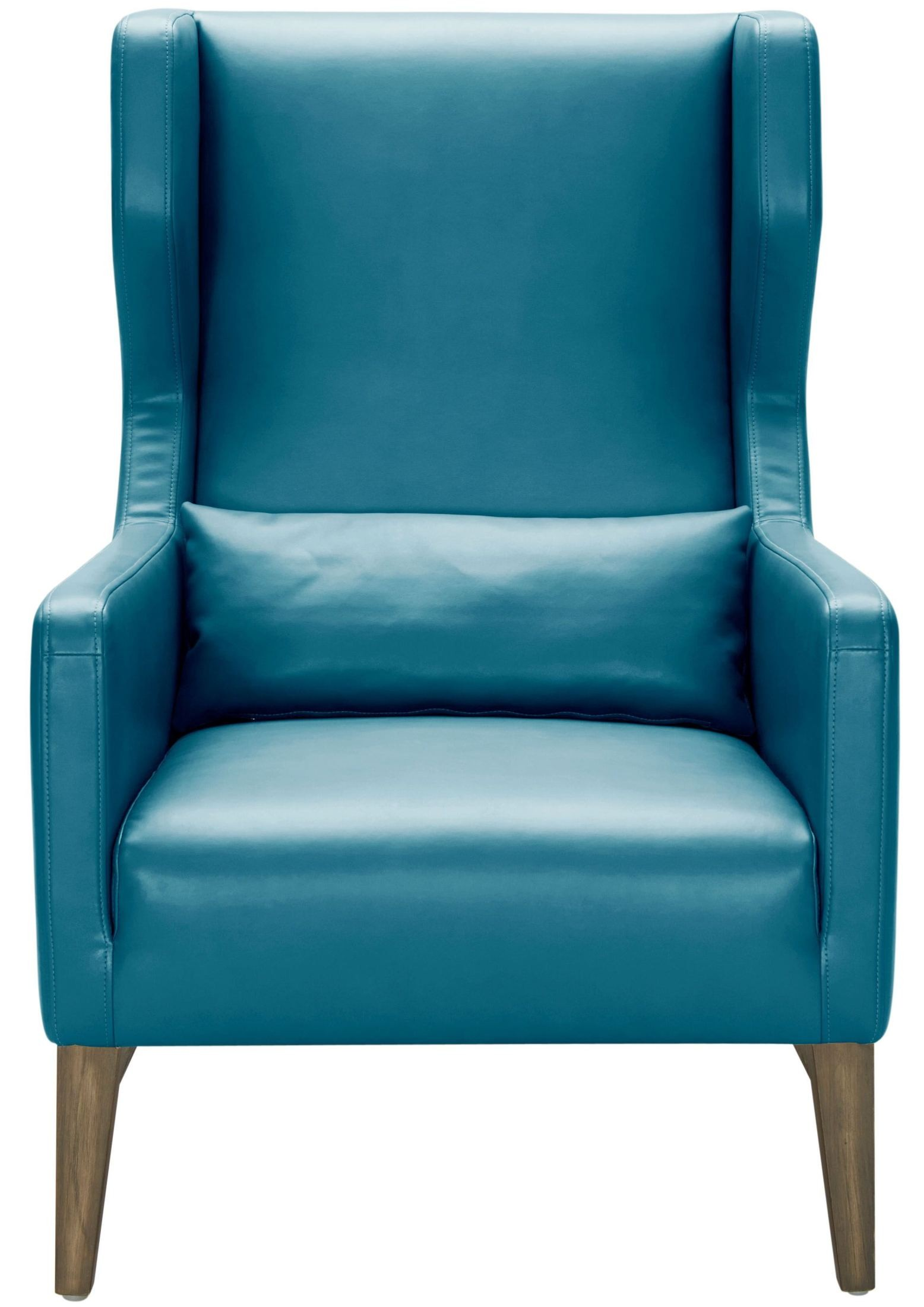 Turquoise Leather Chair Messina Turquoise Leather Armchair 100701 Sunpan Modern Home