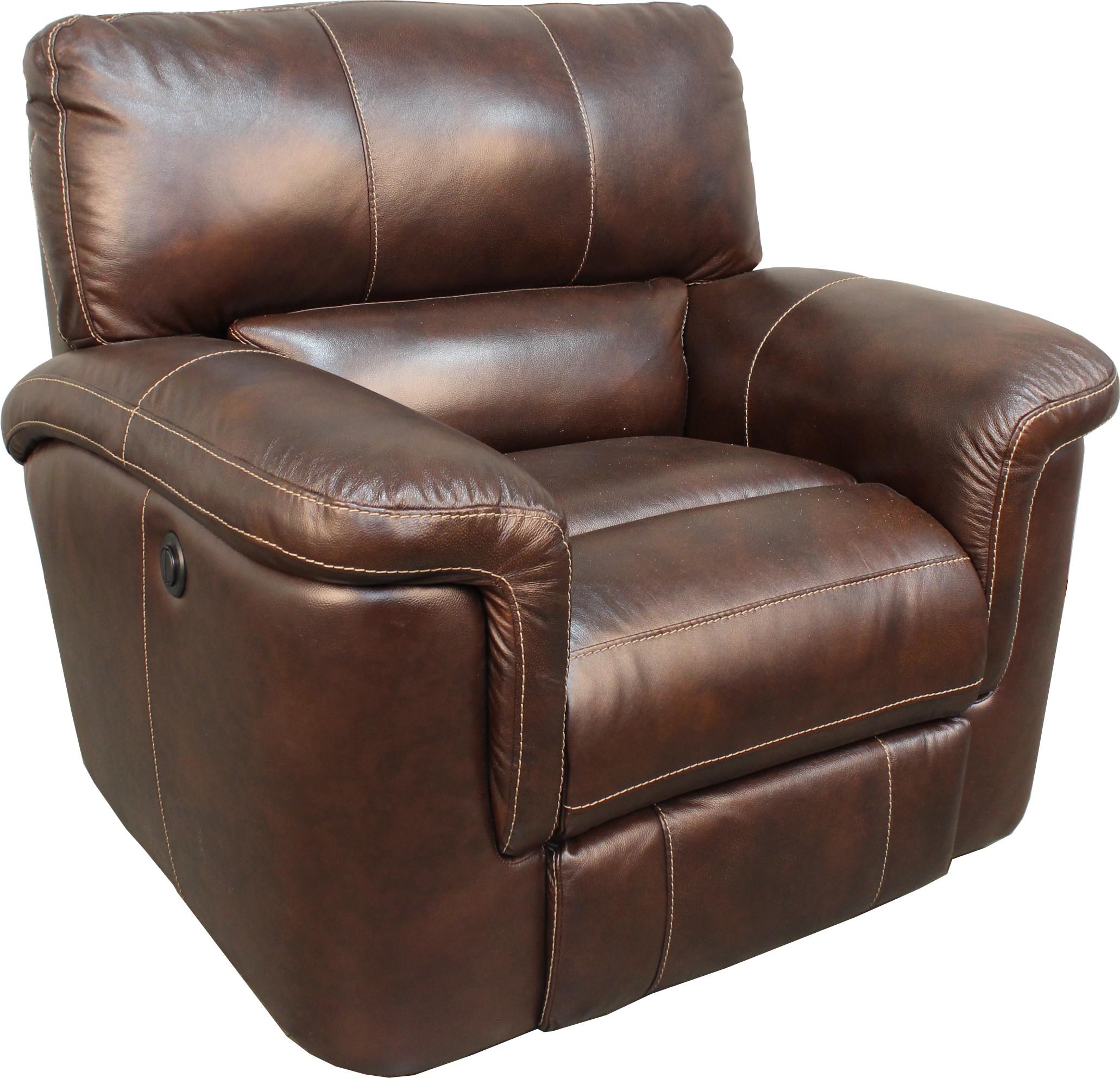 parker leather sofa reviews designer sets singapore hitchcock cigar dual power reclining living room set from
