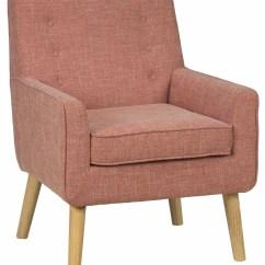 Accent Chair Orange Wedding Covers Liverpool Mila Mod Mandarin From Jofran