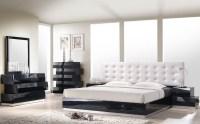 Milan Black Lacquer Platform Bedroom Set from J&M (176871 ...