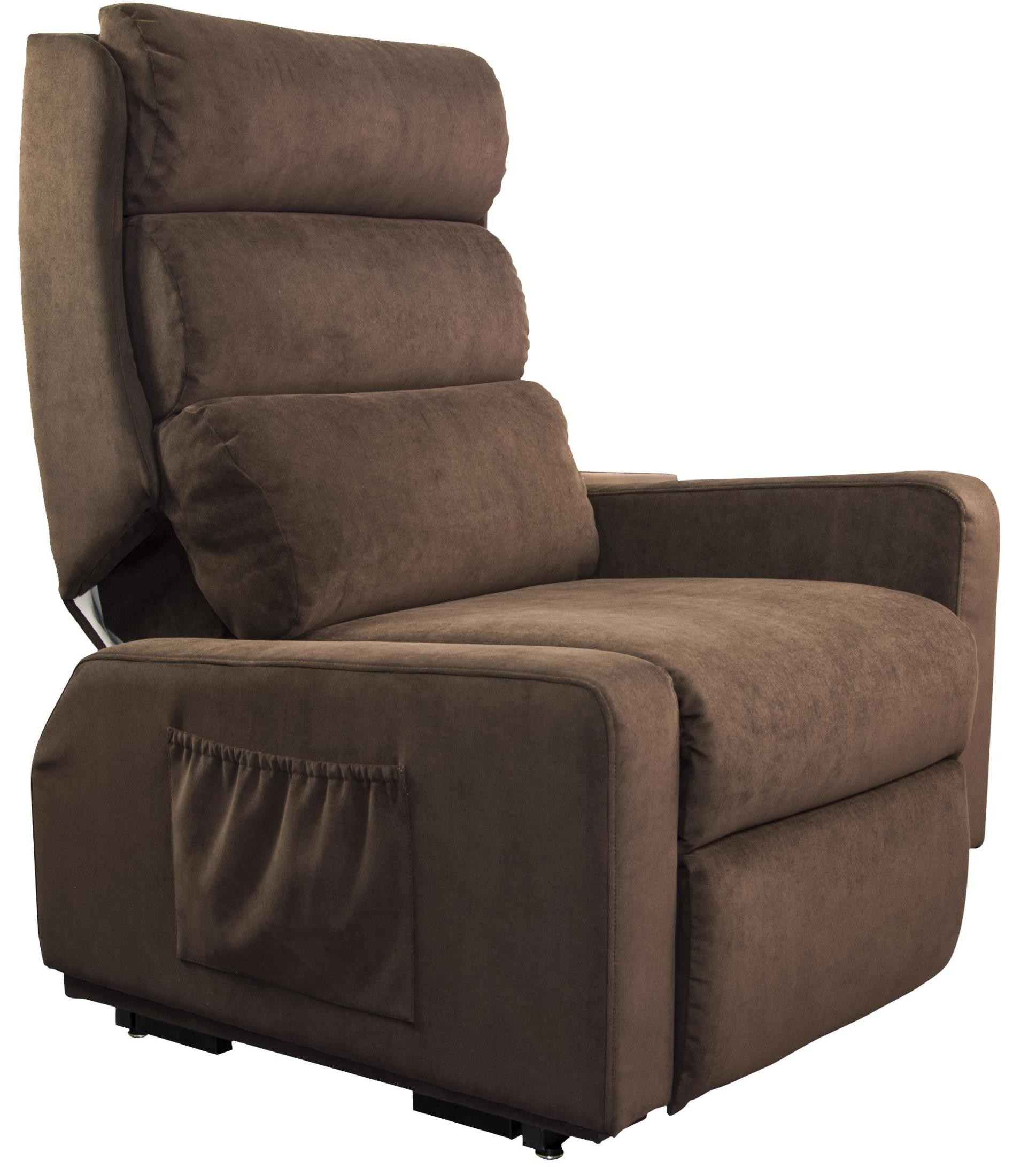 handicap lift chair recliner cushion cover mobility espresso from cozzia mc 510 fbn01