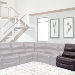 Sofa Rph Fresco Antique Durablend Upholstery Ulysses Chestnut Power Reclining Sectional From Parker Living 2399904