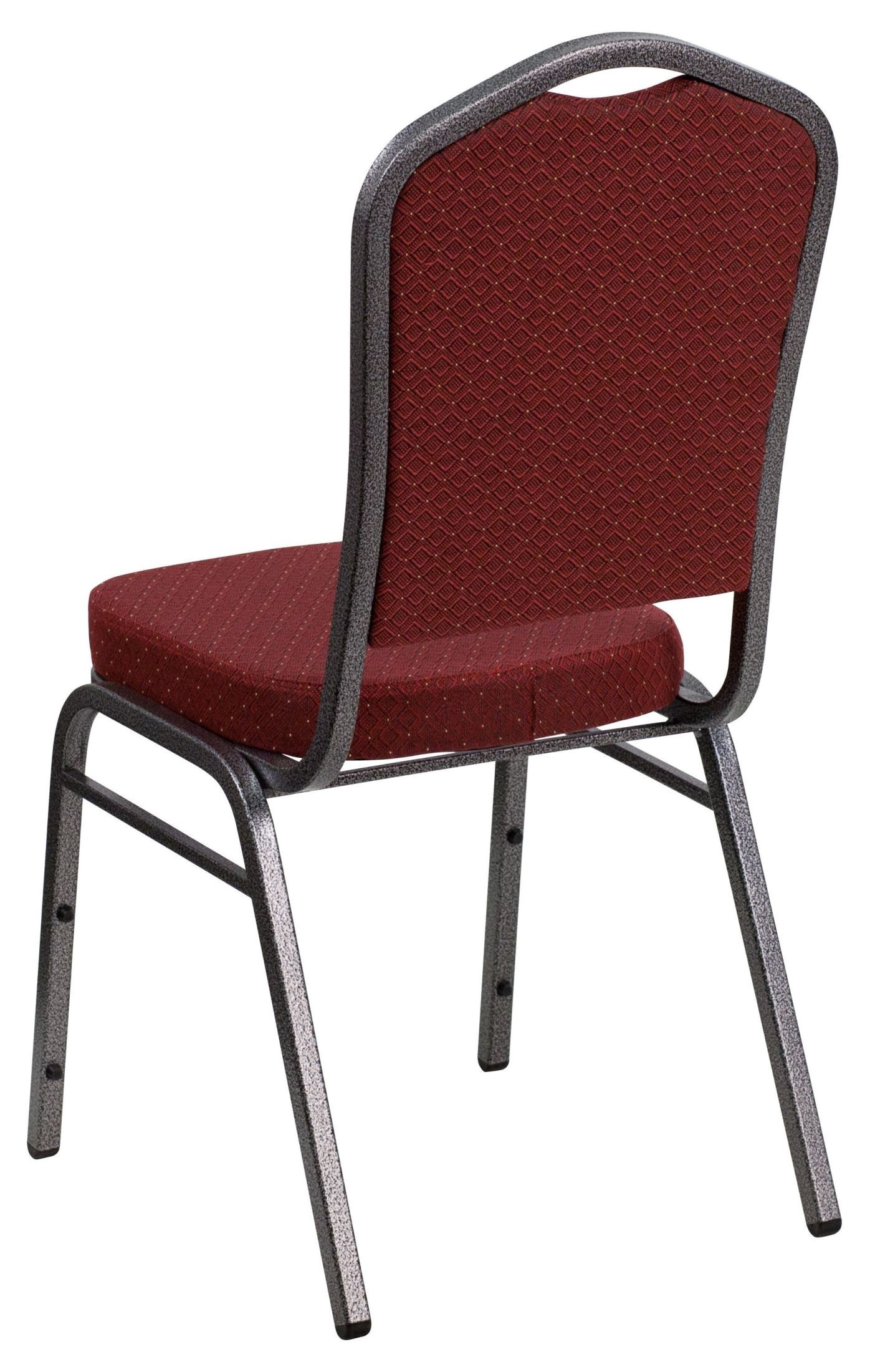 Hercules Stacking Chairs Hercules Series Crown Back Stacking Burgundy Fabric