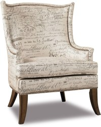 Sanctuary Beige Paris Fossil Accent Chair from Hooker ...