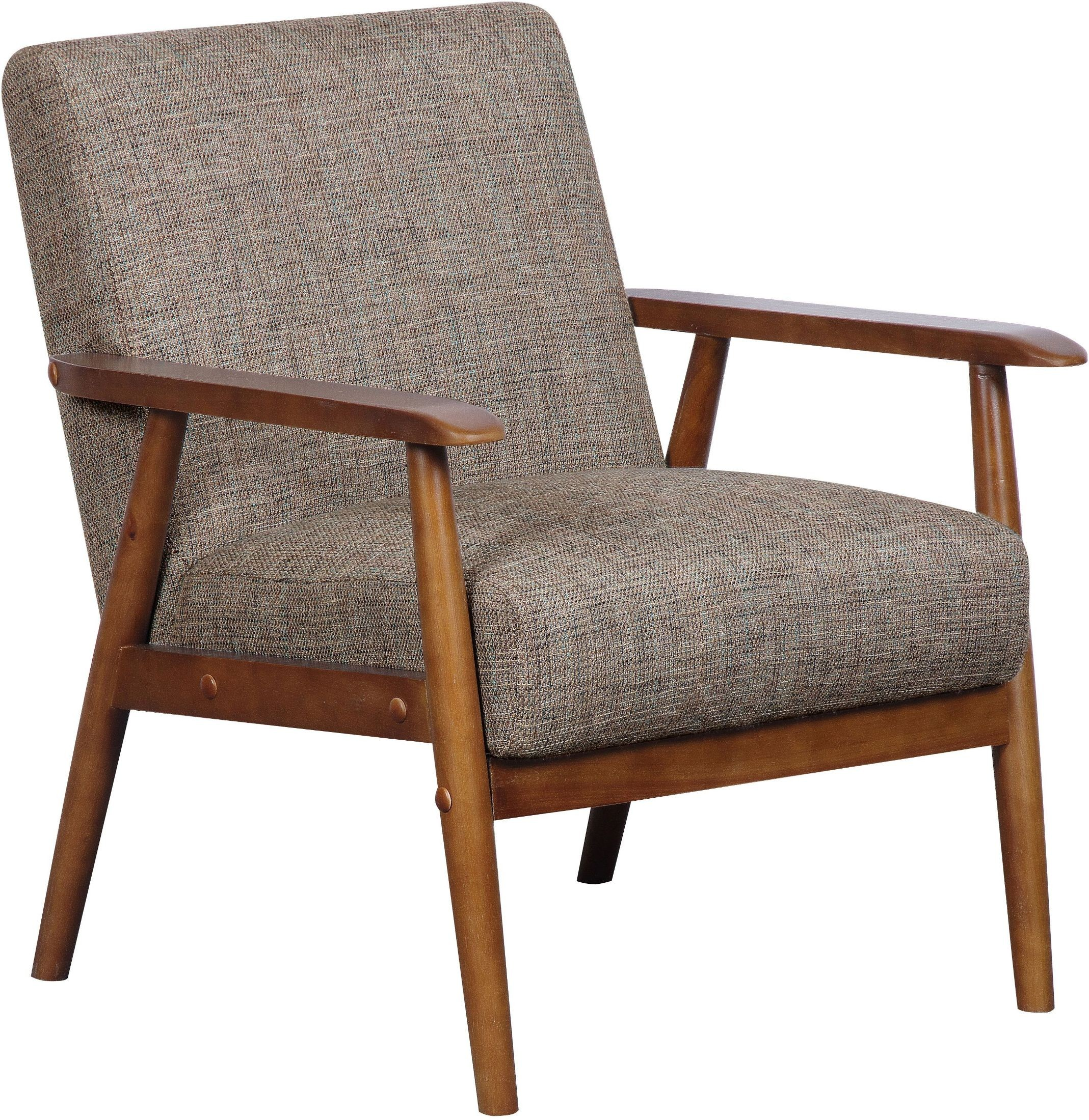 Calypso Waterfall Wood Frame Accent Chair from Pulaski