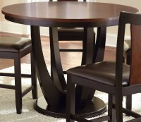 Oakton Round Counter Height Dining Table from Steve Silver ...