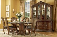 Old World Double Pedestal Extendable Dining Room Set from ...