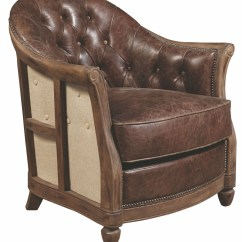 Brown Accent Chairs Cheap Pc Gaming Andrew Leather Chair P006205 Pulaski