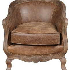 Leather Slipper Chair Chocolate Lift Rental Sloane Brown Accent P006206 Pulaski