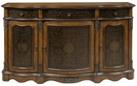 3 Drawer Accents Credenza from Pulaski (P017040)   Coleman ...