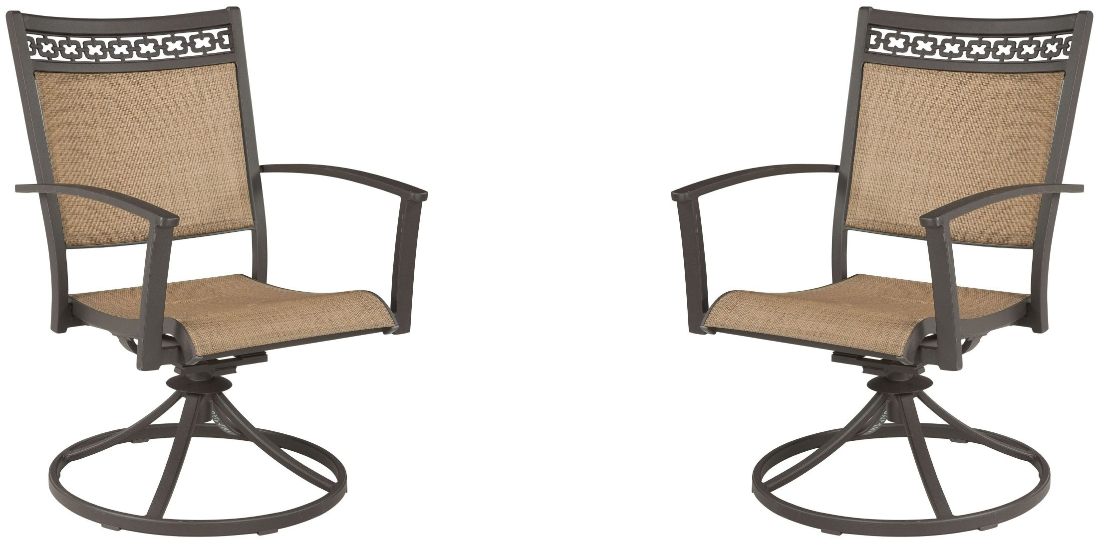 target sling chair tan graco replacement high seat cover carmadelia and brown outdoor swivel set of