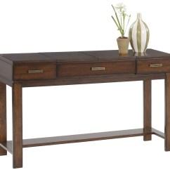 Cherry Sofa Table With Storage Full Width Double Bed Miramar Veneer Desk From Progressive
