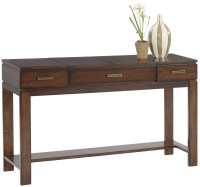Miramar Cherry Veneer Sofa Table/Desk from Progressive ...