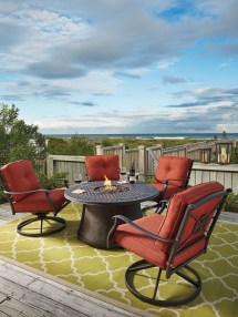 Outdoor Fire Pit Dining Sets