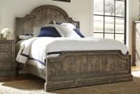 Meadow Weathered Gray Panel Bedroom Set, P632-34-35-78 ...