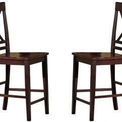 Espresso Dining Chair Best Nursing Winston Counter Set Of 2 From