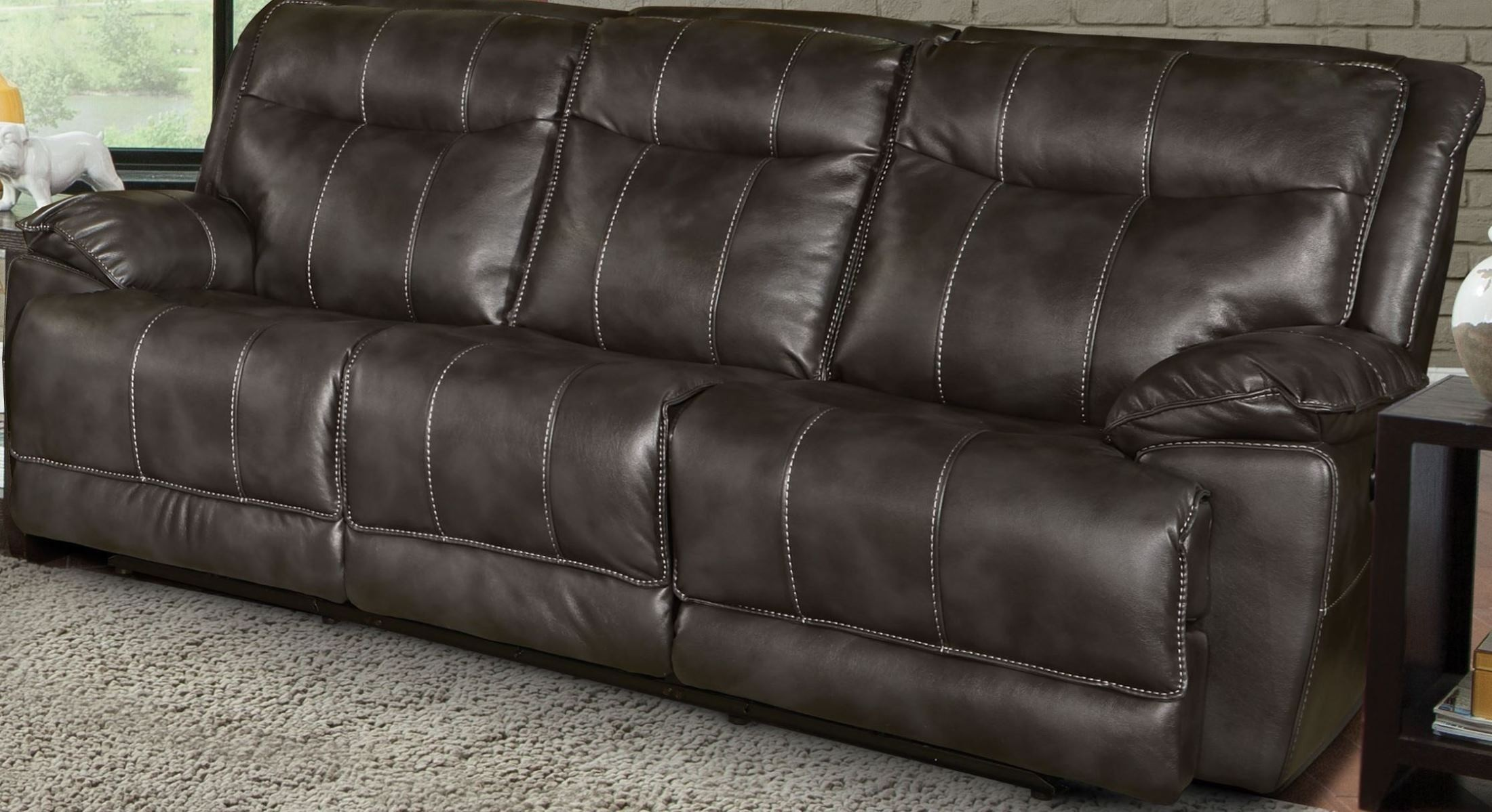 cheap sectional sofas phoenix office star leather sofa flint dual power reclining from parker living