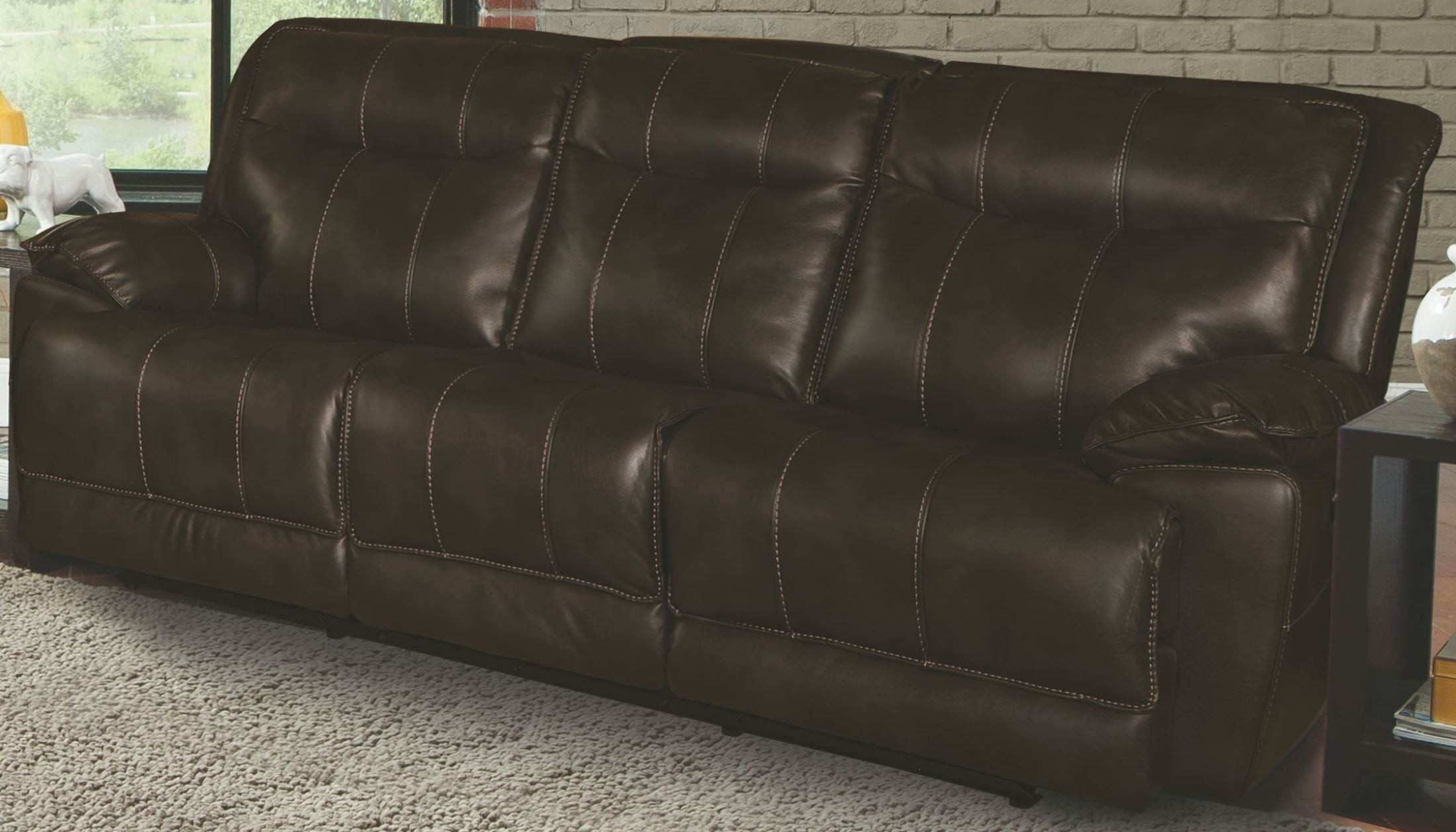 cheap sectional sofas phoenix camper for sale truffle dual power reclining sofa from parker
