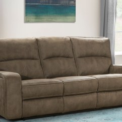 Polaris Sofa Furniture Vintage Mid Century Modern Leather Kahlua Dual Power Reclining From Parker