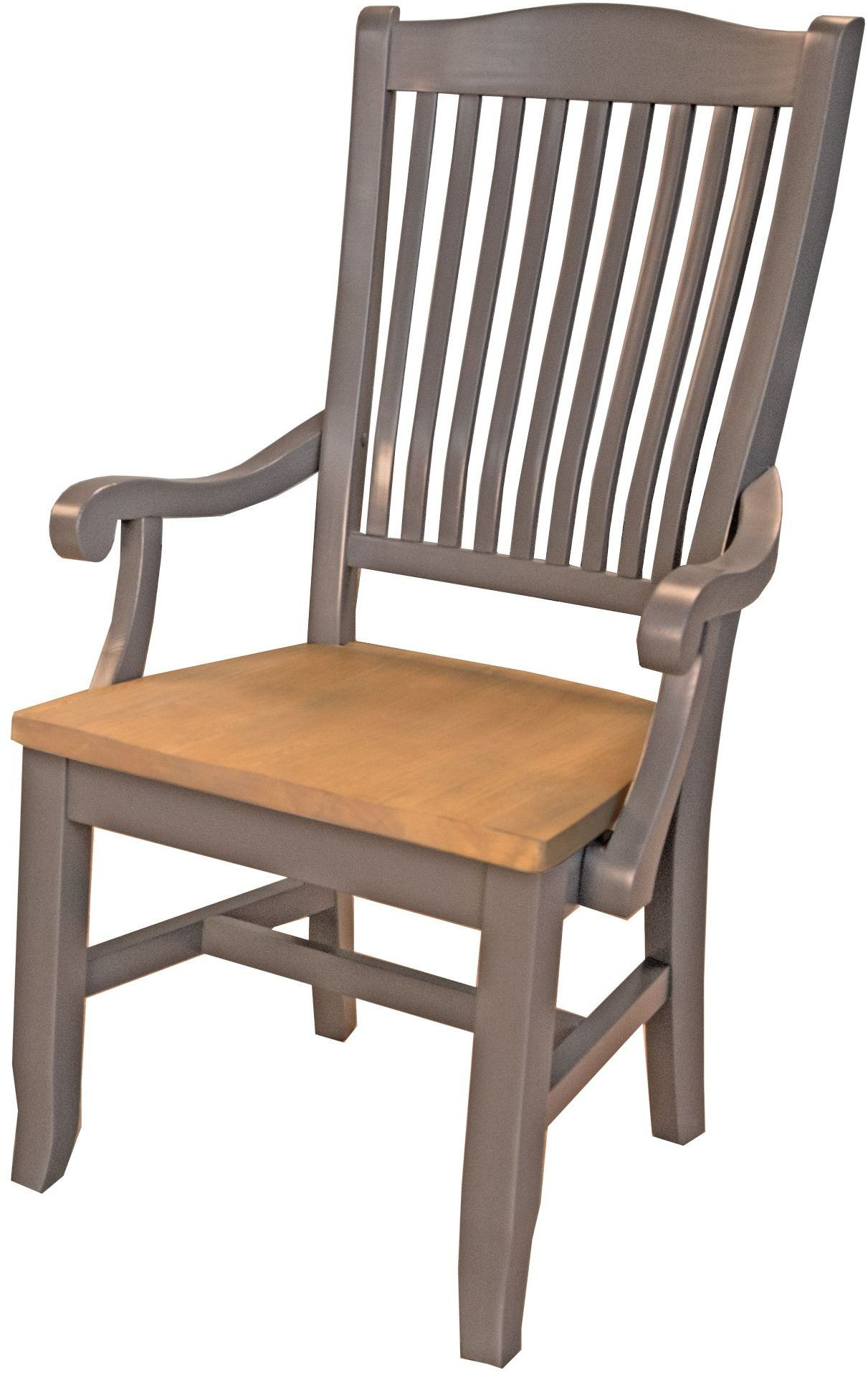 wooden slat chairs red leather desk chair port townsend grey and seaside pine wood back arm