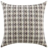 Grey Checkered Accent Pillow Set of 2 from Coaster (905100 ...
