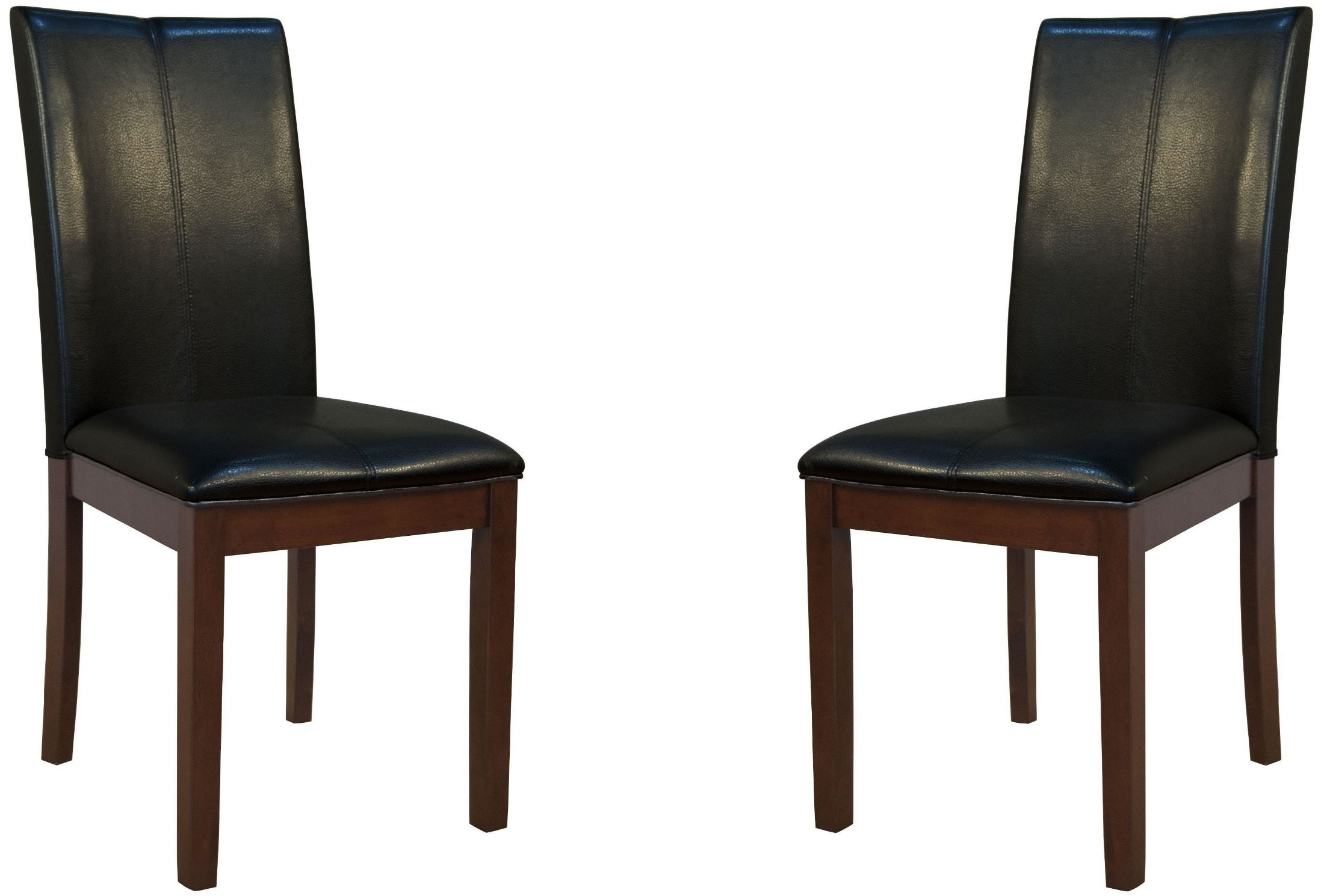 black parsons chair madison park dining chairs parson curved back set of 2 prses221k