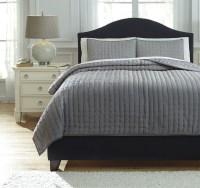 Teague Gray King Comforter Set from Ashley (Q748003K ...