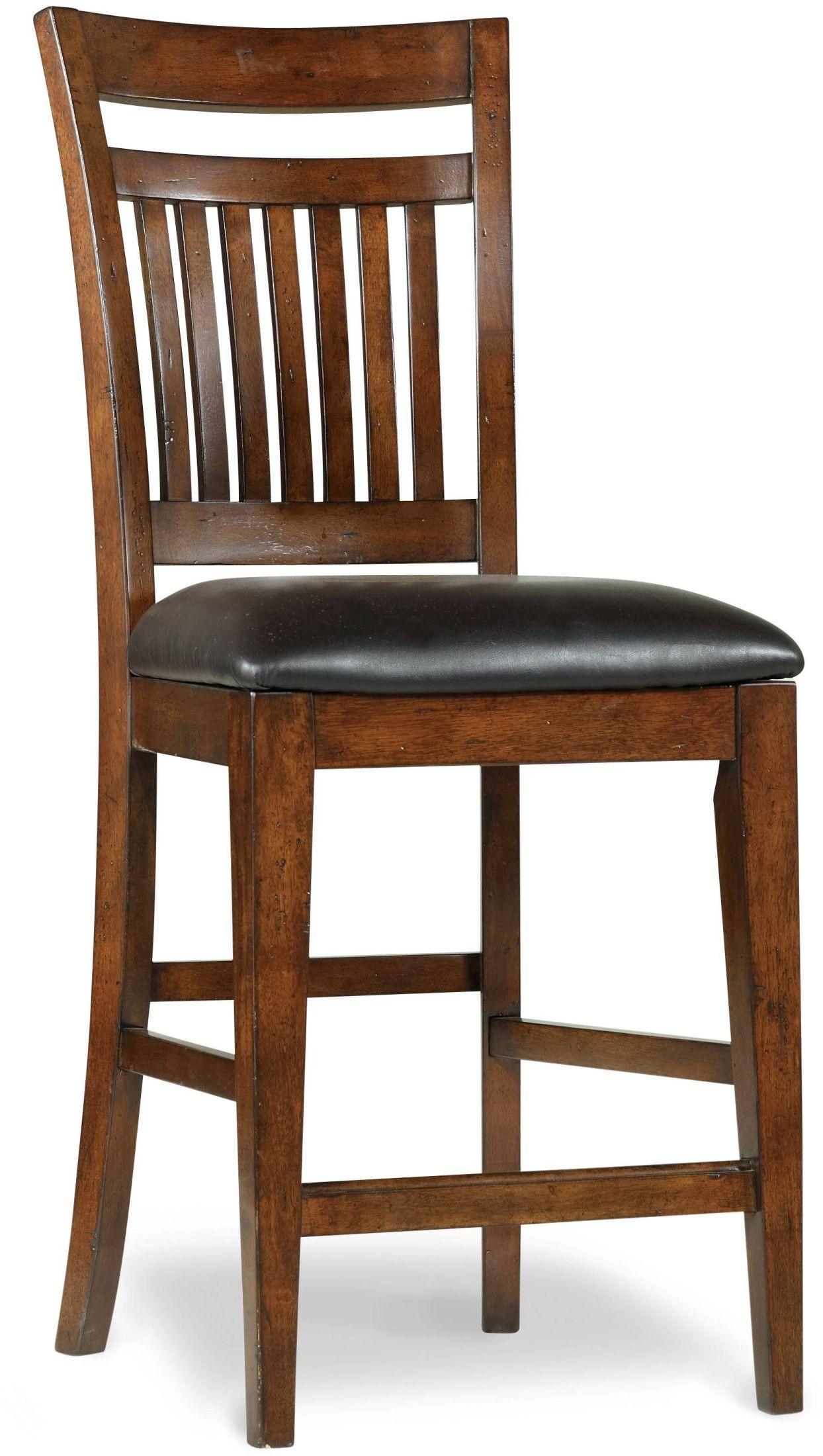 Wendover Cherry Counter Height Chair Set of 2 from Hooker