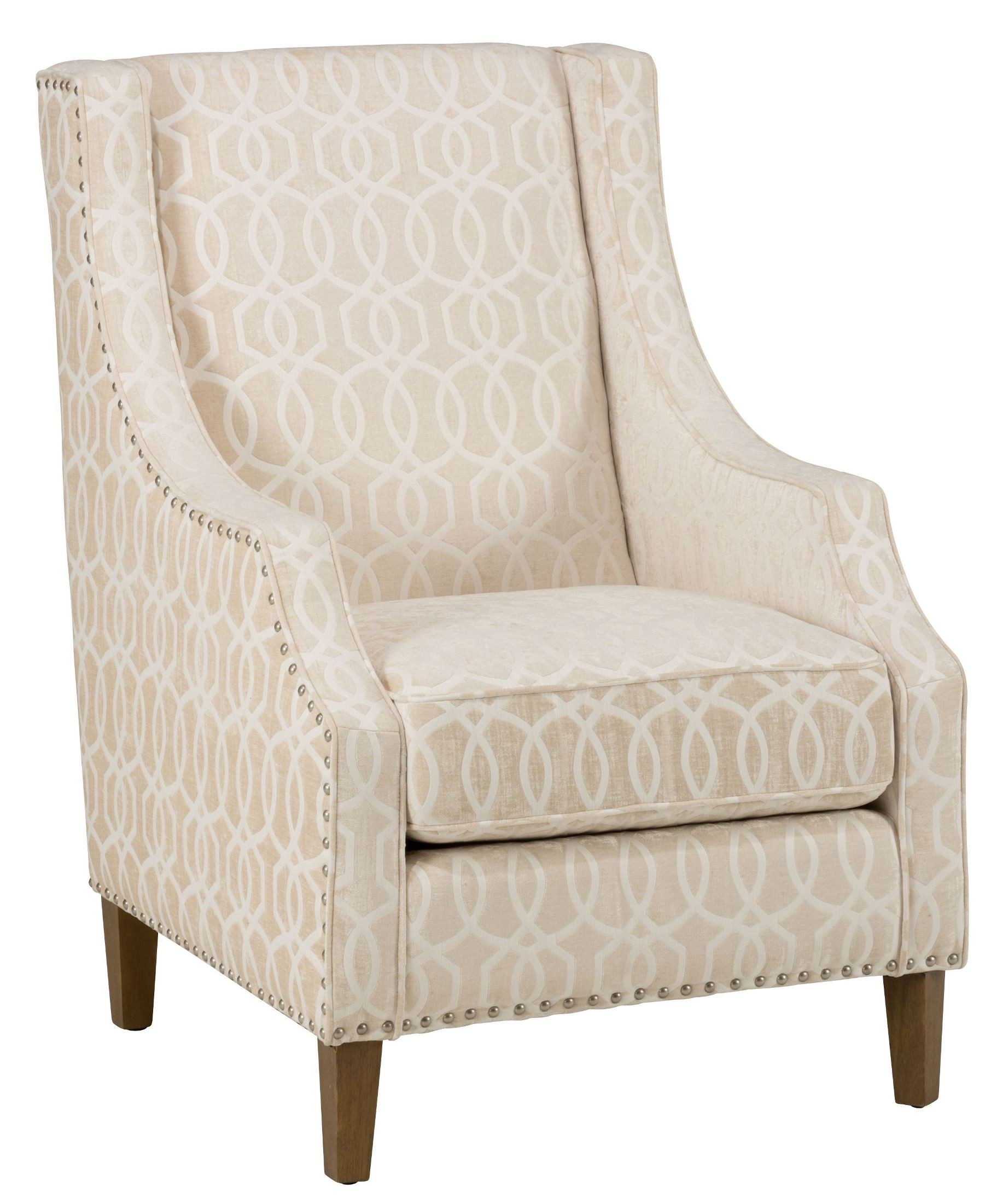 Quinn Ivory Accent Chair, Quinnchivory, Jofran