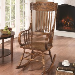 Coleman Rocking Chair Sam Maloof 600175 Wooden From Coaster