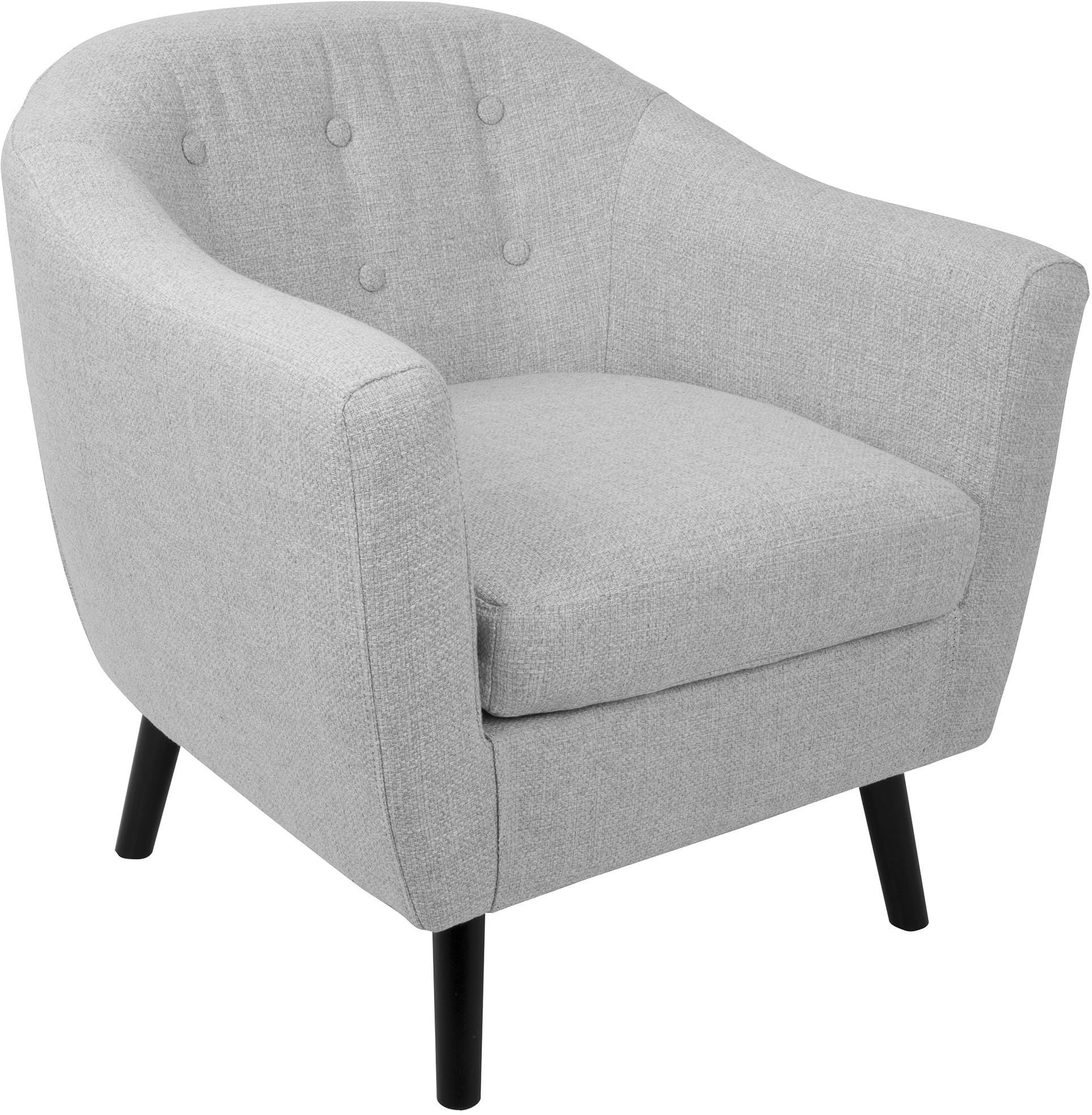 Light Gray Accent Chairs Rockwell Light Gray Accent Chair From Lumisource Coleman