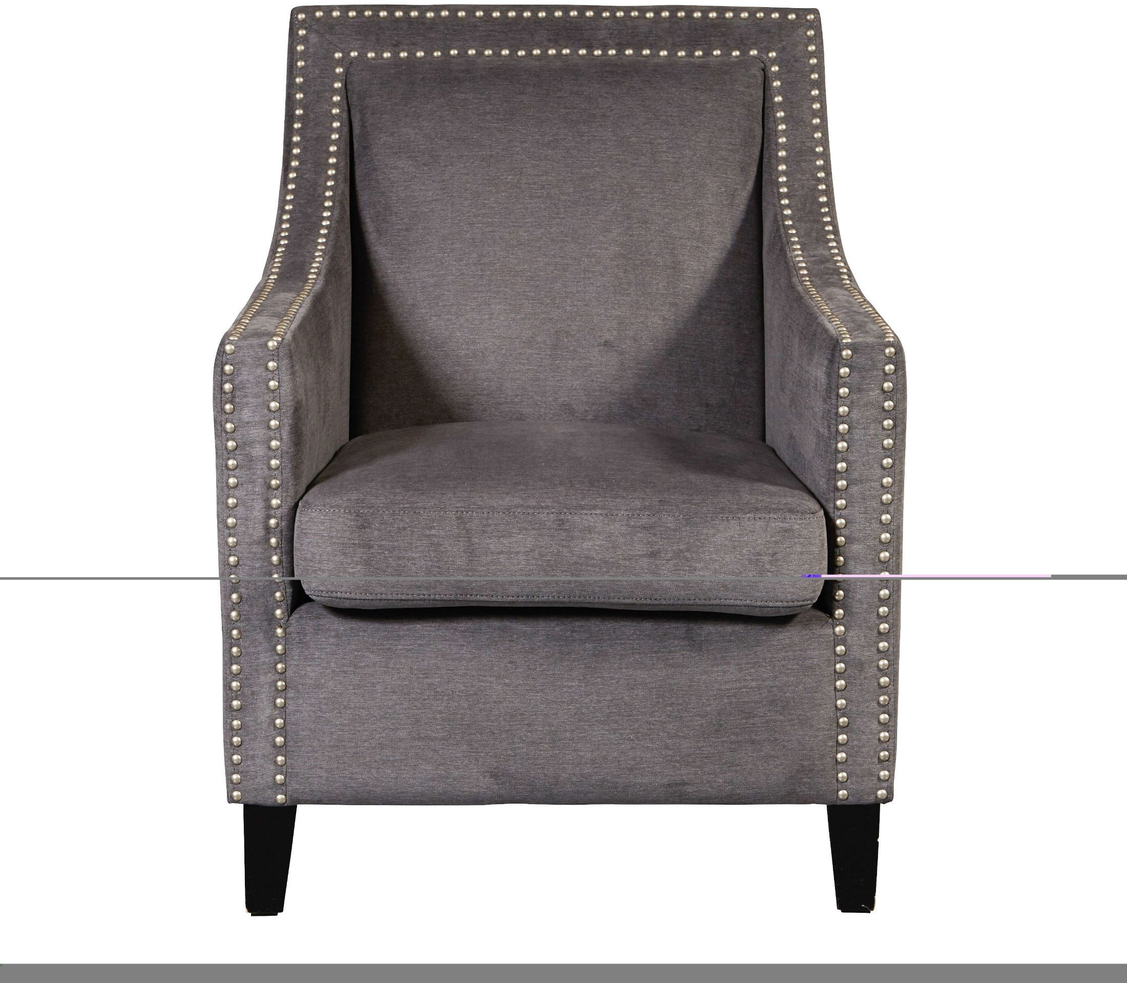 grey accent chair with arms green velvet tufted arm from pulaski coleman furniture