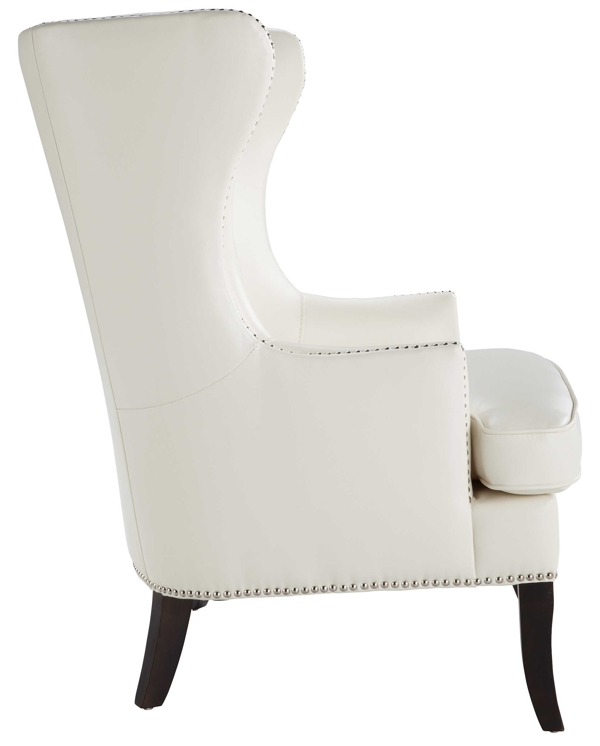 ivory leather office chair bassett ellis executive royalton arm from sunpan 31046 coleman