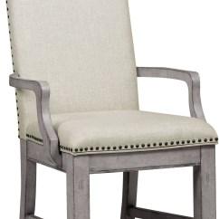 Grey Upholstered Chair Ergonomic User Manual Prospect Hill Gray Arm S082 157 Samuel
