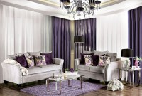 Oliviera Silver Living Room Set from Furniture of America ...