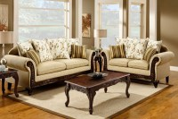 Doncaster Tan Fabric Living Room Set from Furniture of ...