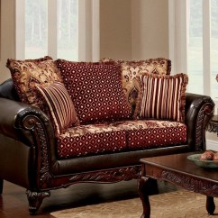 White Sofa Set Living Room Crate And Barrel Ellis Brown Burgundy From Furniture Of ...