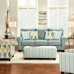 Cheap Teal Sofas Mena Granite Sofa Brubeck Soft From Furniture Of America Sm8140